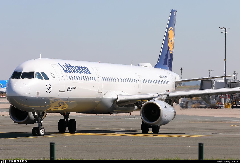 D-AIDP - Airbus A321-231 - Lufthansa