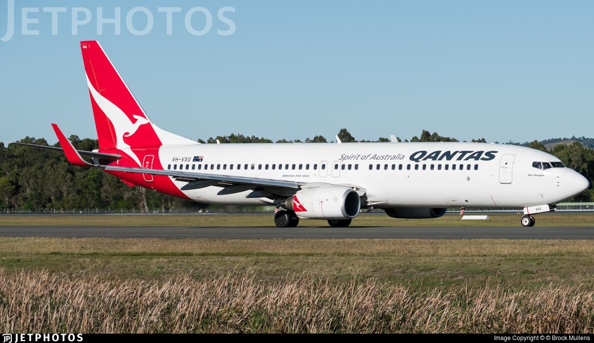 VH-VXG - Boeing 737-838 - Qantas