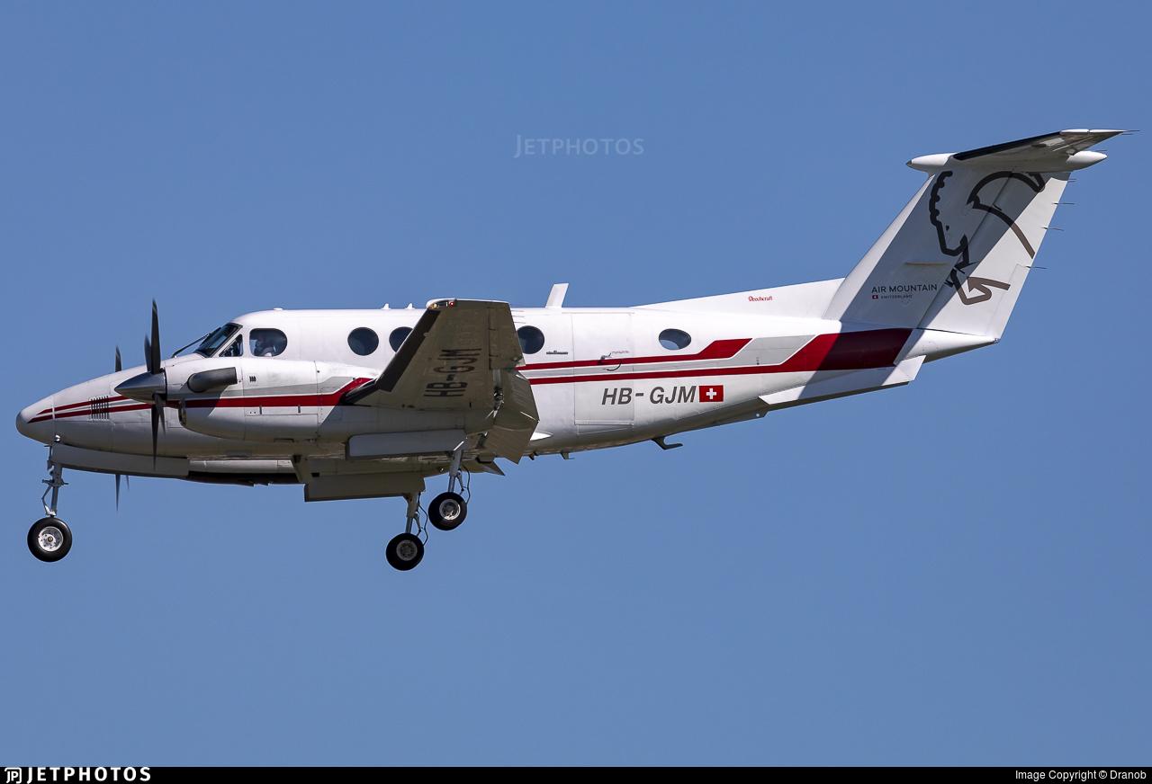 HB-GJM - Beechcraft 200 Super King Air - Air Mountain