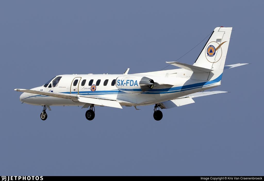 SX-FDA - Cessna 550 Citation II - Lifeline Aviation