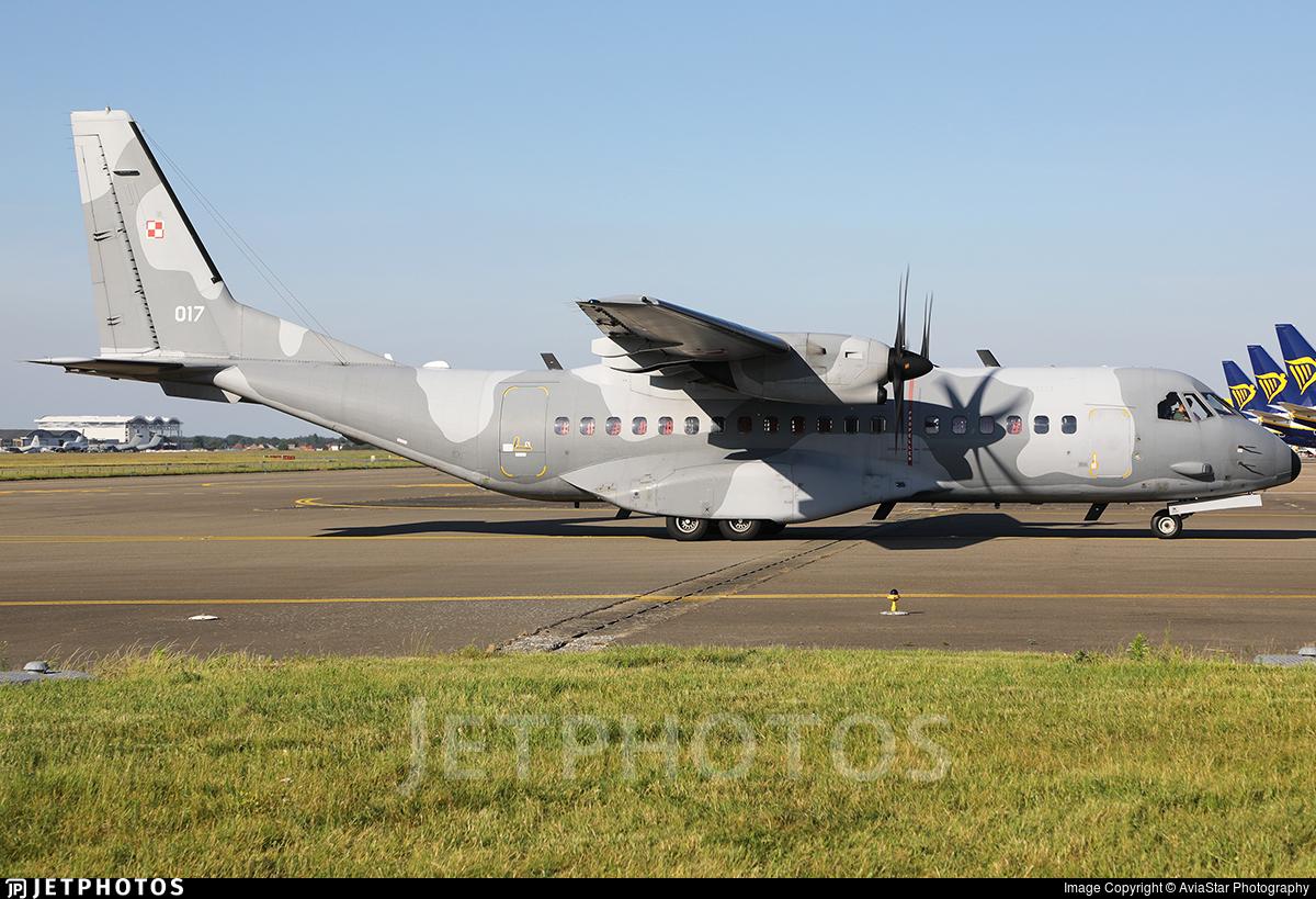 017 - CASA C-295M - Poland - Air Force