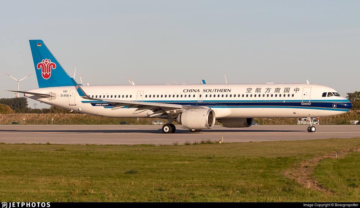 D-AYAI - Airbus A321-253NX - China Southern Airlines
