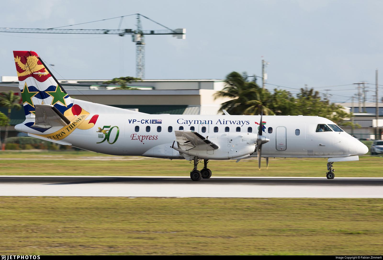 VP-CKI - Saab 340B - Cayman Airways Express