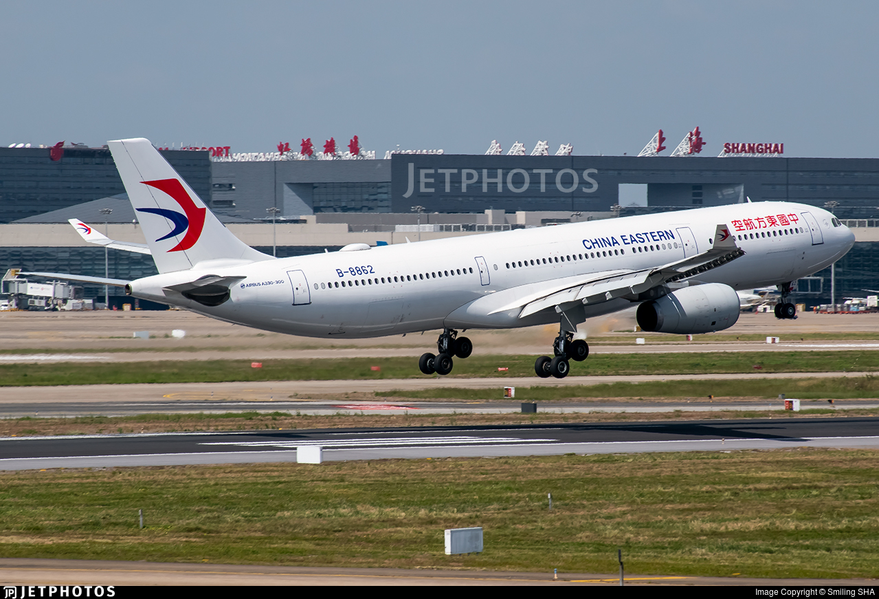 B-8862 - Airbus A330-343 - China Eastern Airlines