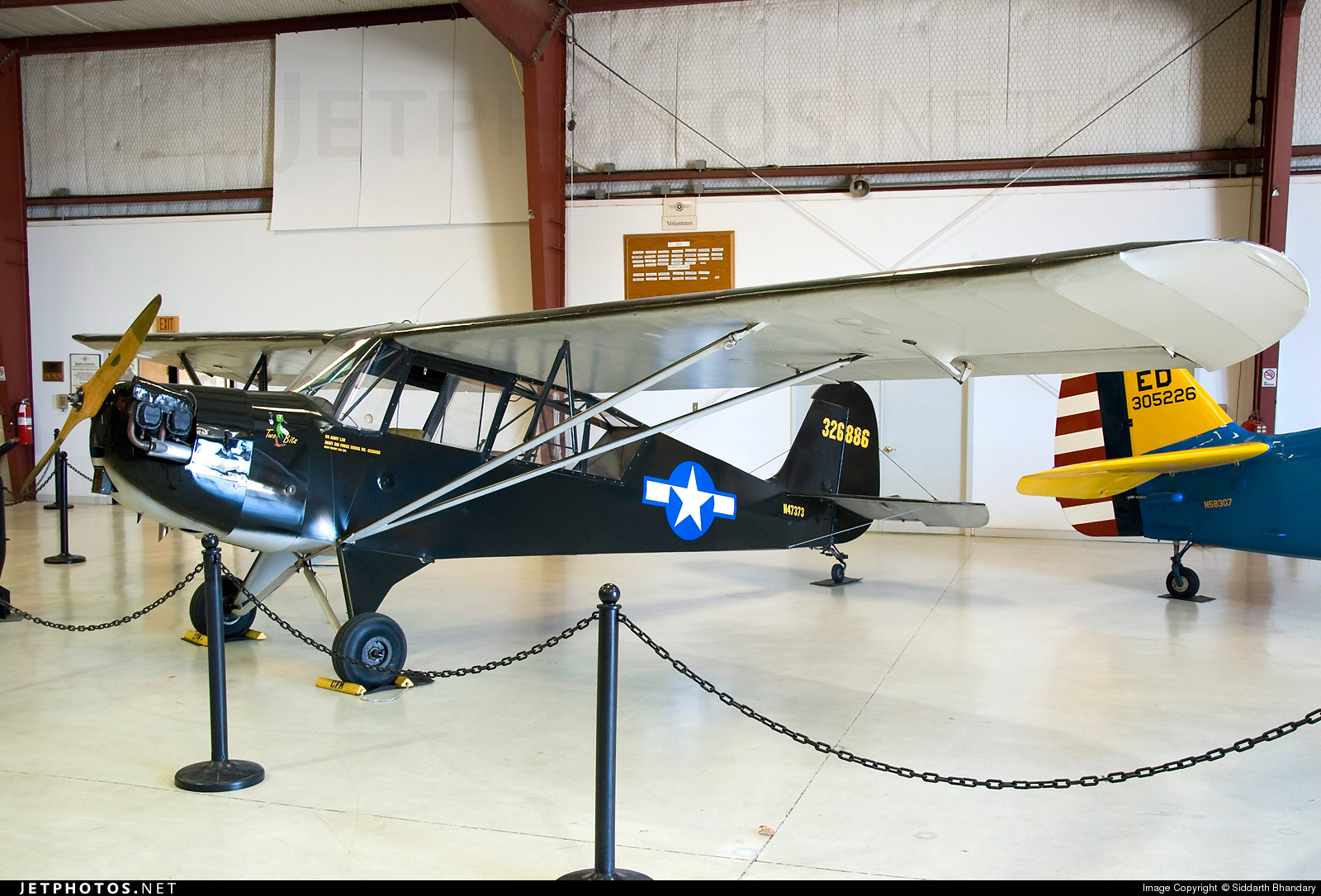 N47343 - Aeronca L-3C Grasshopper - Cavanaugh Flight Museum