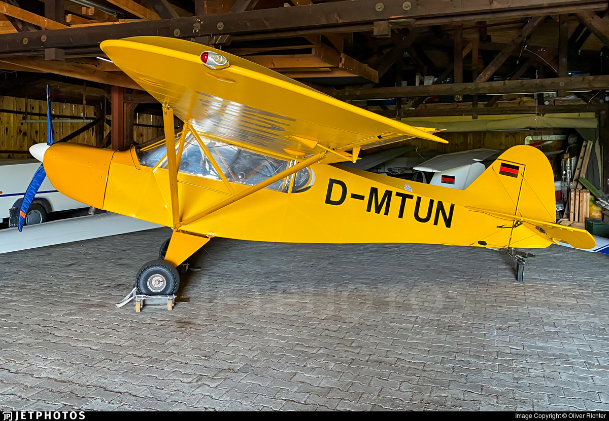 D-MTUN - Zlin Savage 912 - Fliegerclub Condor Antersberg