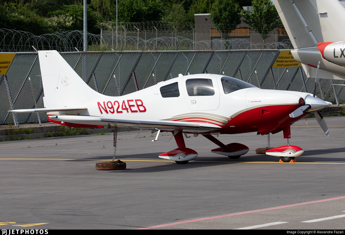 N924EB - Lancair LC41-550FG Columbia 400 - Private