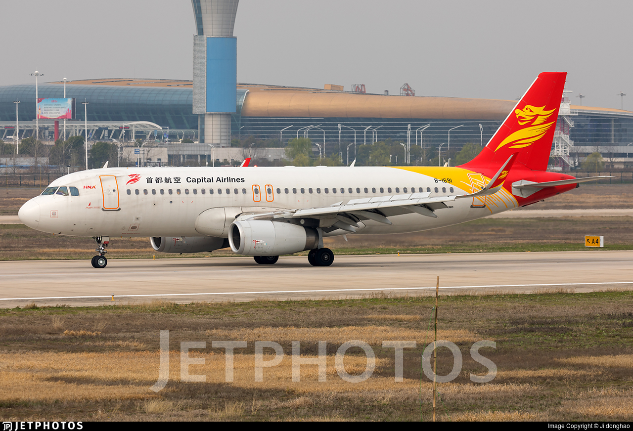 B-1691 - Airbus A320-232 - Capital Airlines