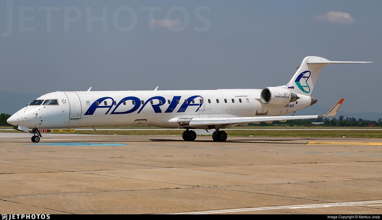 S5-AAY | Bombardier CRJ-701 | Adria Airways | Markuz Josip
