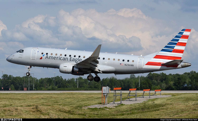 N236NN - Embraer 170-200LR - American Eagle (Envoy Air)