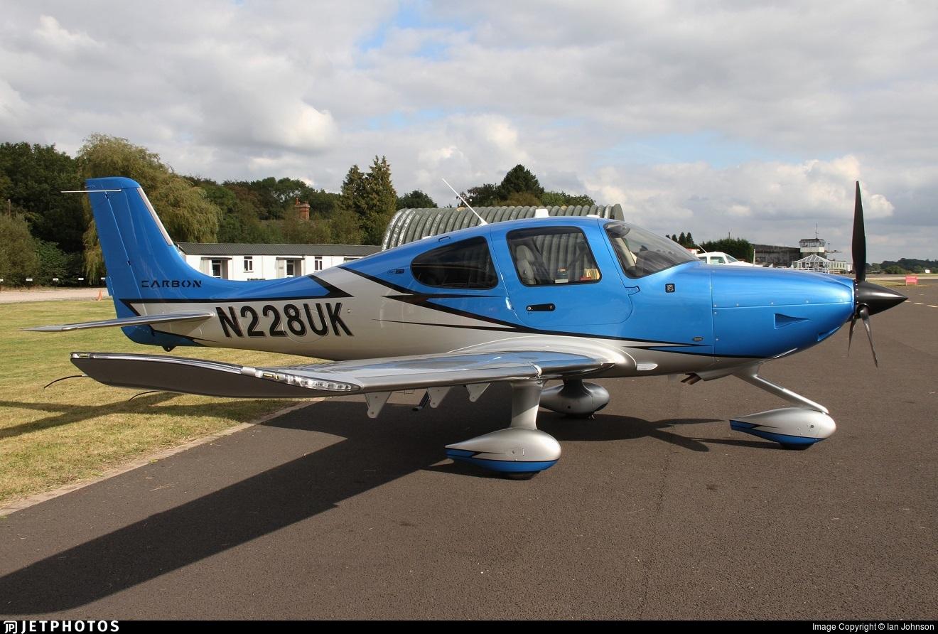 N228UK - Cirrus SR22T-GTS G6 Carbon - Private