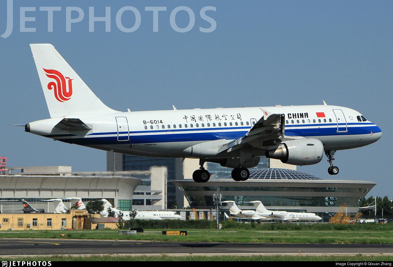 B-6014 - Airbus A319-115 - Air China