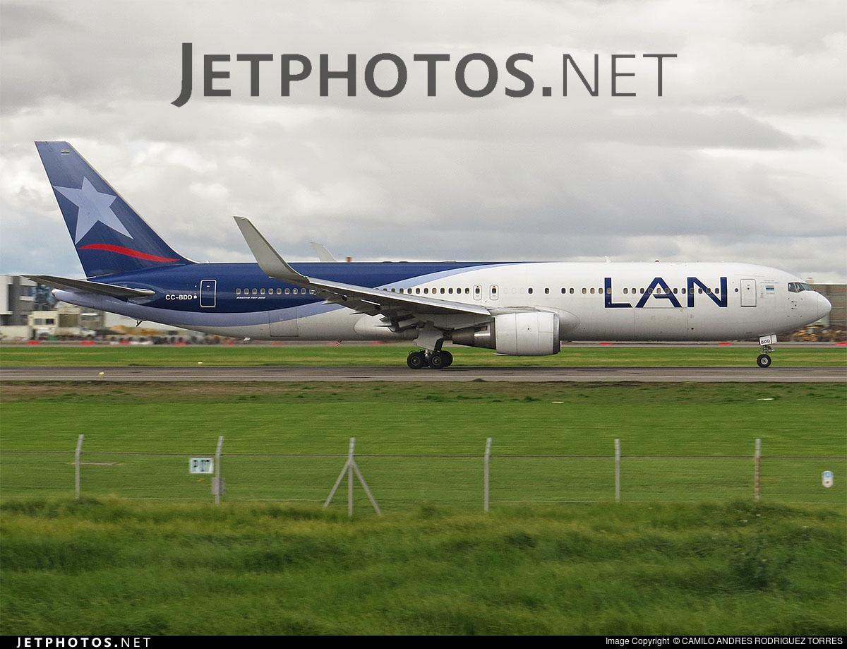 CC-BDD - Boeing 767-316(ER) - LAN Colombia