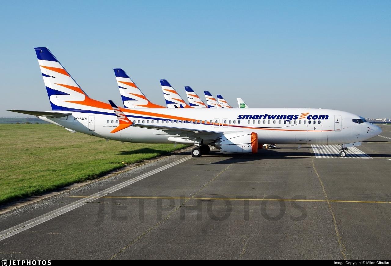OK-SWM - Boeing 737-8 MAX - SmartWings