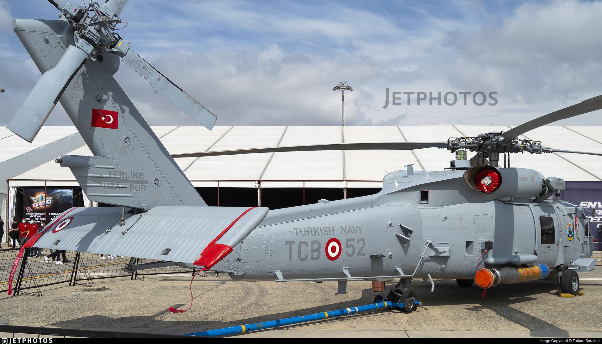 TCB-52 - Sikorsky S-70B-2 Seahawk - Turkey - Navy