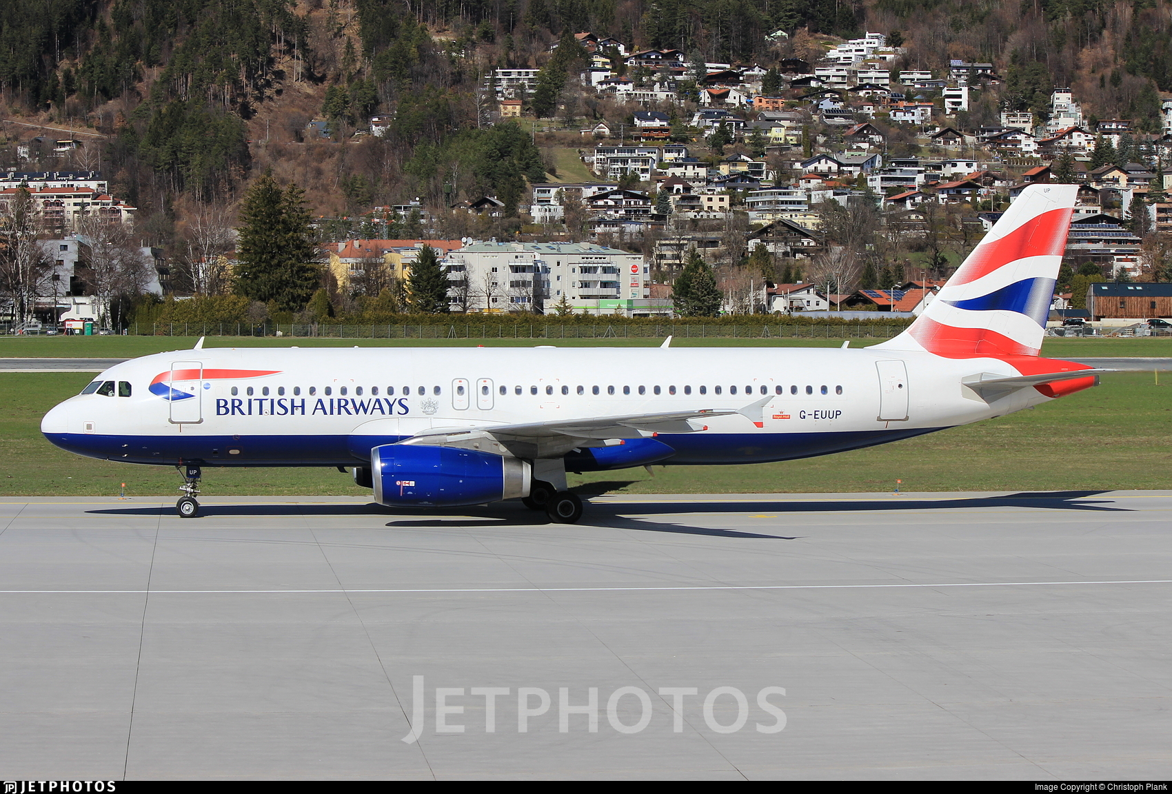 G-EUUP - Airbus A320-232 - British Airways