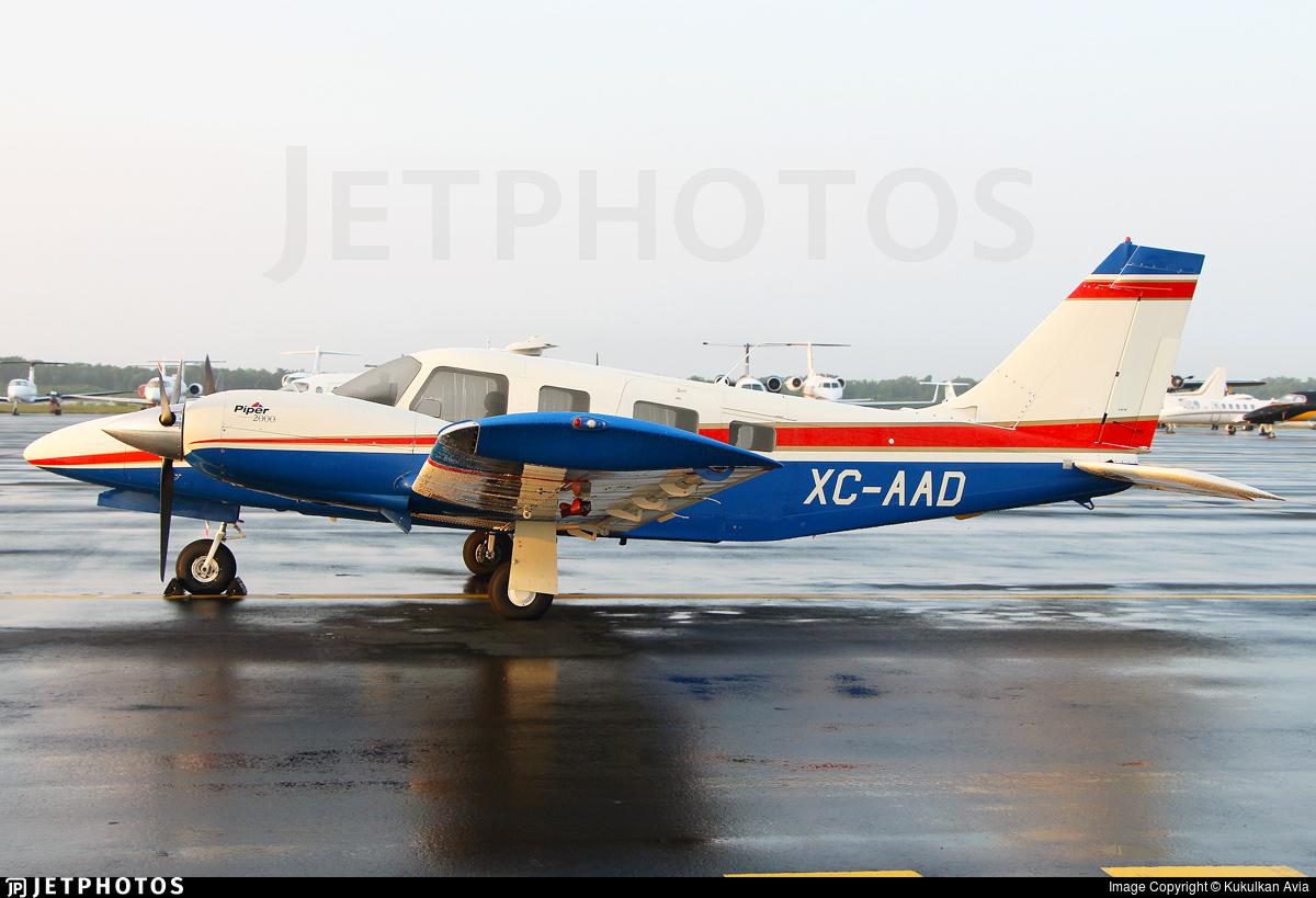 XC-AAD - Piper PA-34-220T Seneca V - Mexico - Government