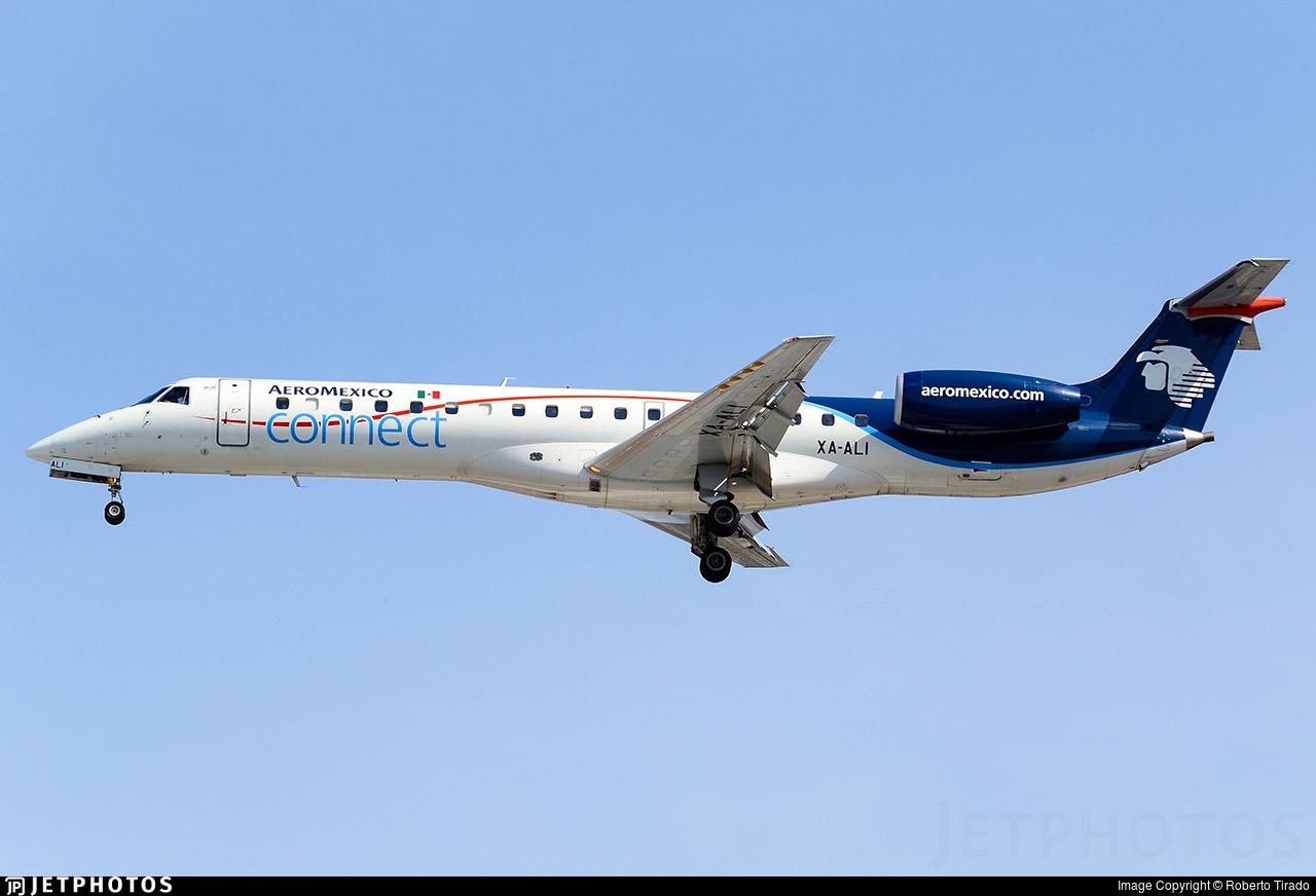 XA-ALI - Embraer ERJ-145LR - Aeroméxico Connect