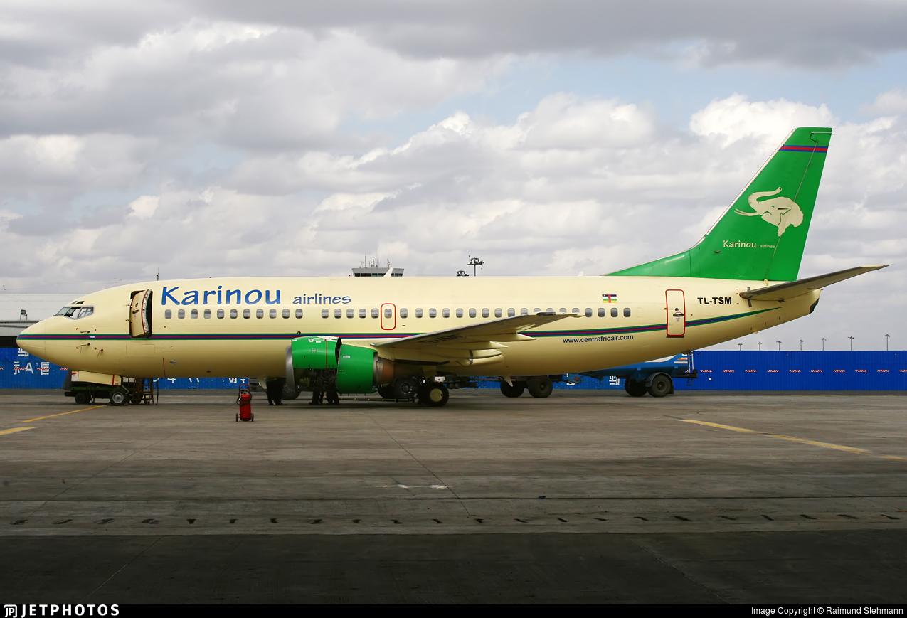 TL-TSM - Boeing 737-36N - Karinou Airlines