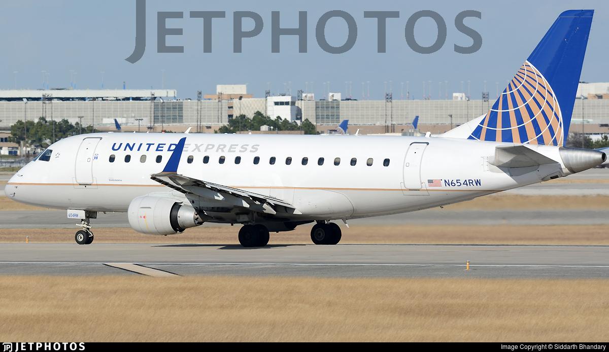 N654RW - Embraer 170-100SE - United Express (Shuttle America)