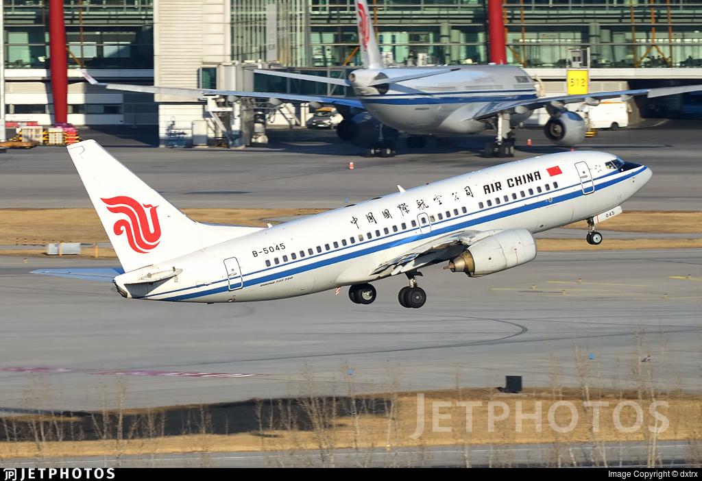 B-5045 - Boeing 737-79L - Air China
