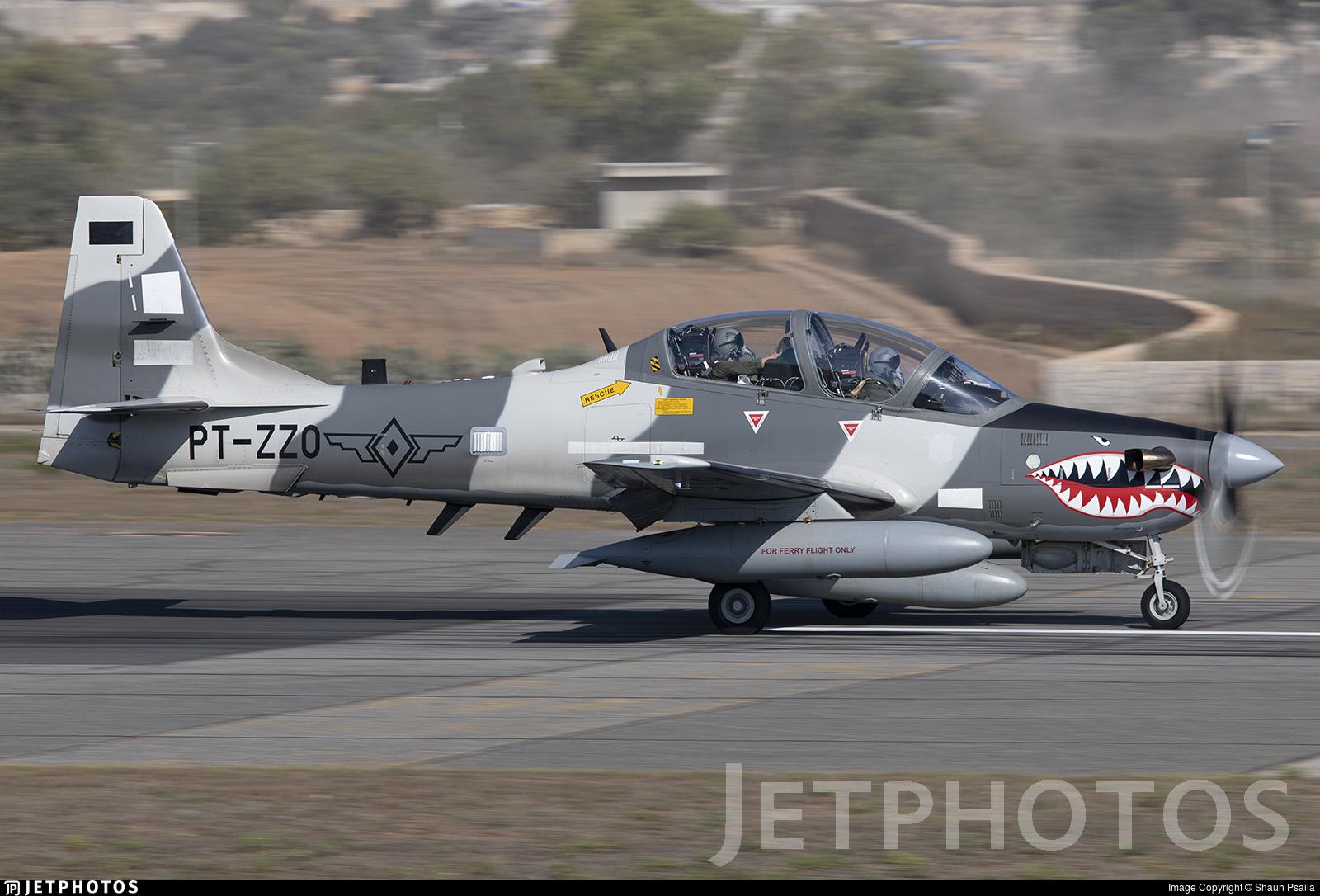 PT-ZZO - Embraer A-29B Super Tucano - Embraer