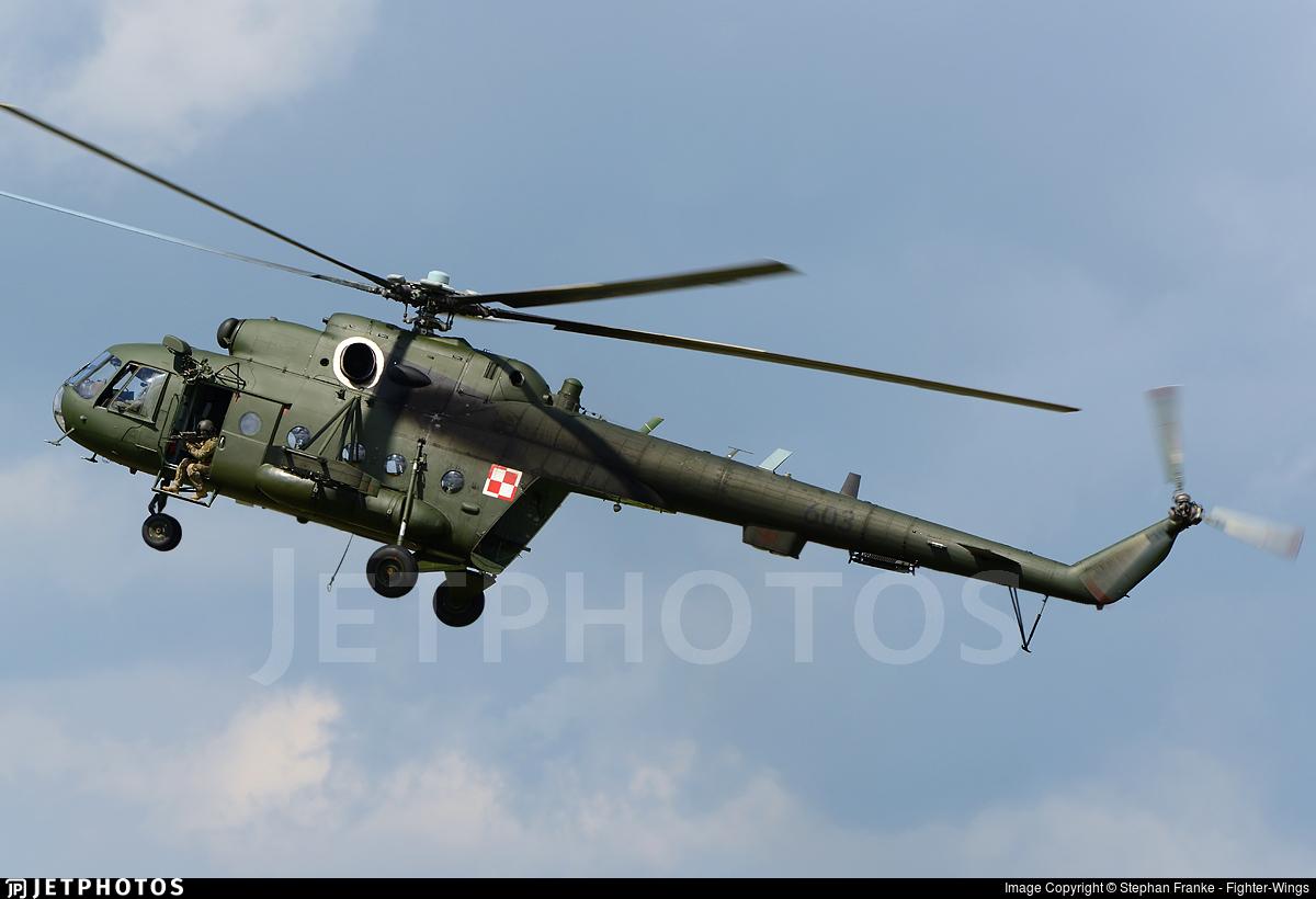 603 - Mil Mi-17 Hip - Poland - Air Force