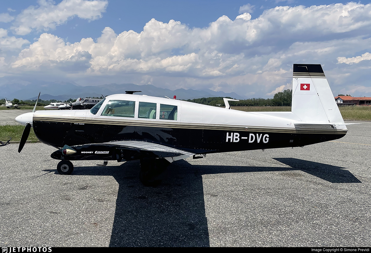 HB-DVG - Mooney M20F Executive 21 - Private