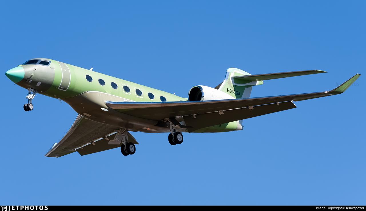 N953GA - Gulfstream G600 - Gulfstream Aerospace