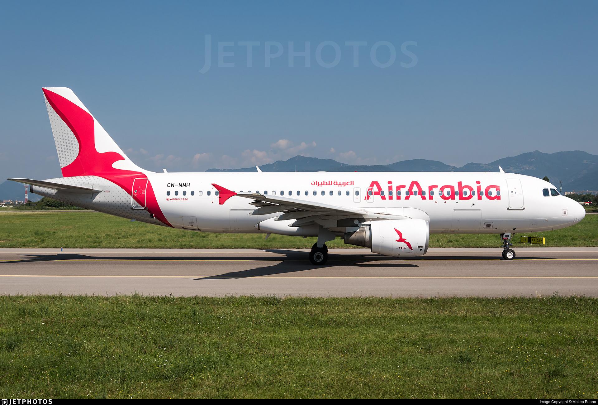 CN-NMH - Airbus A320-214 - Air Arabia Maroc
