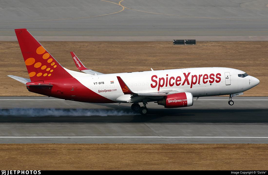 VT-SFB - Boeing 737-75C(BDSF) - SpiceXpress