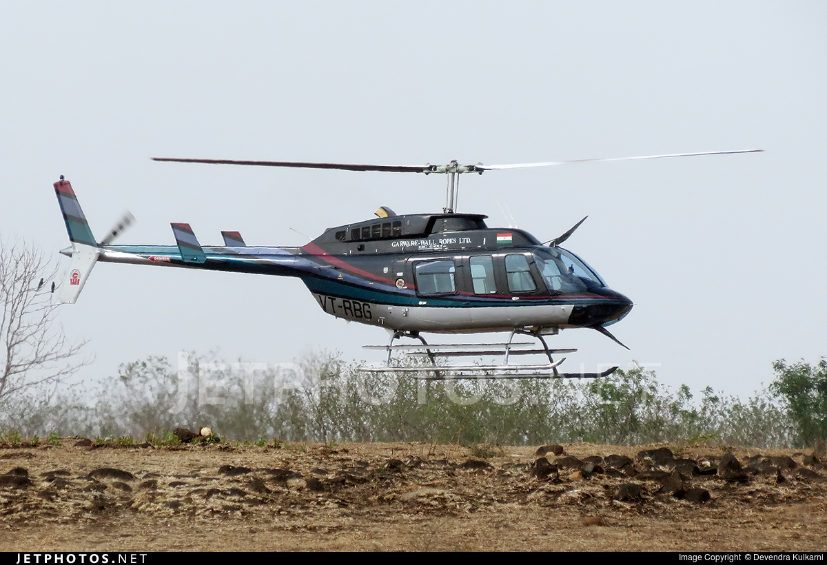 VT-RBG - Bell 206L-4 Long Ranger IV - Private