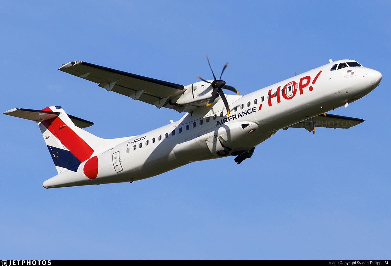F-HOPN - ATR 72-212A(600) - HOP! for Air France