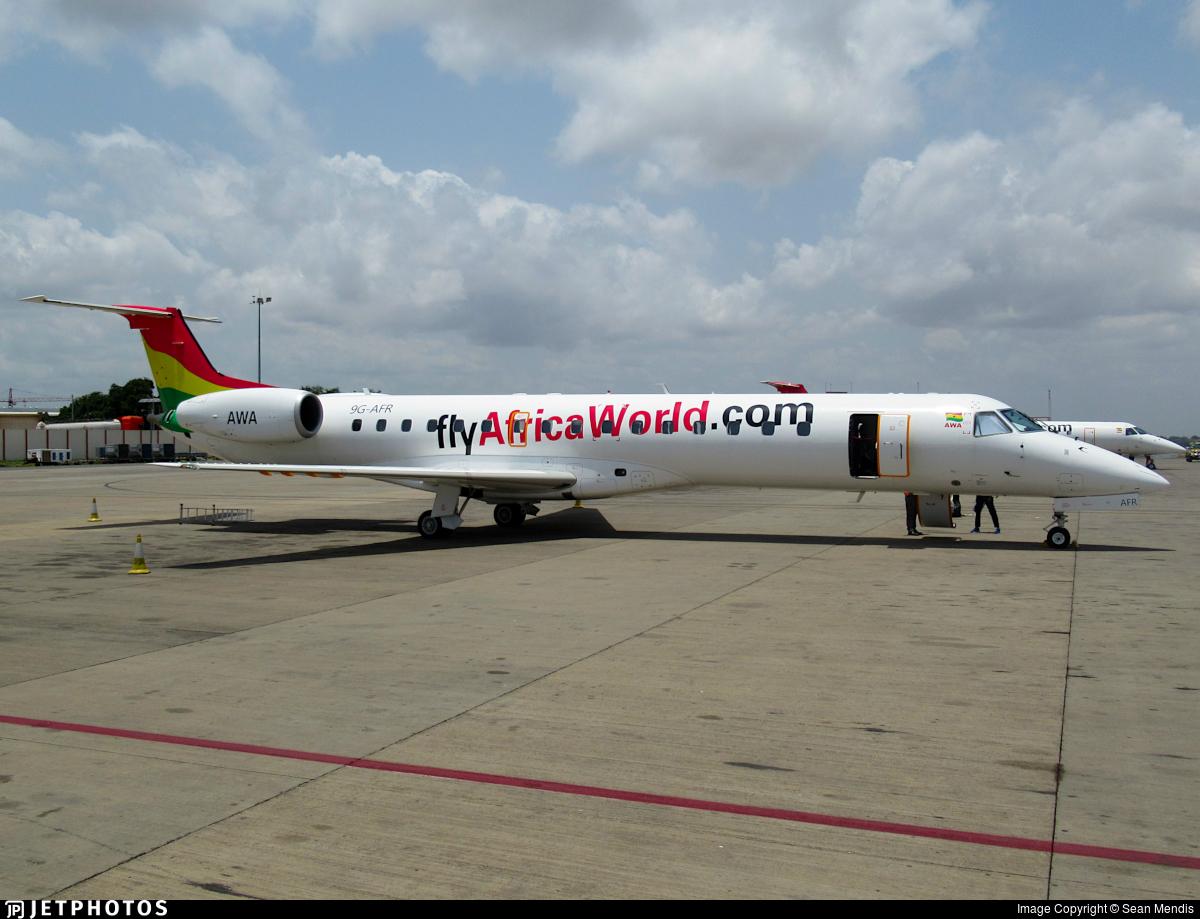 9G-AFR - Embraer ERJ-145LI - Africa World Airlines