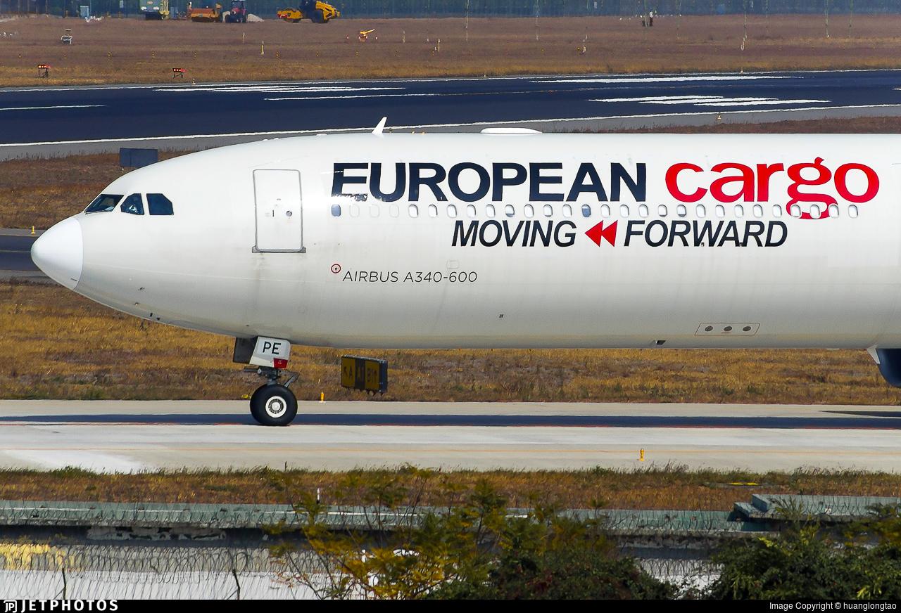 9H-PPE - Airbus A340-642 - European Cargo (Maleth Aero)