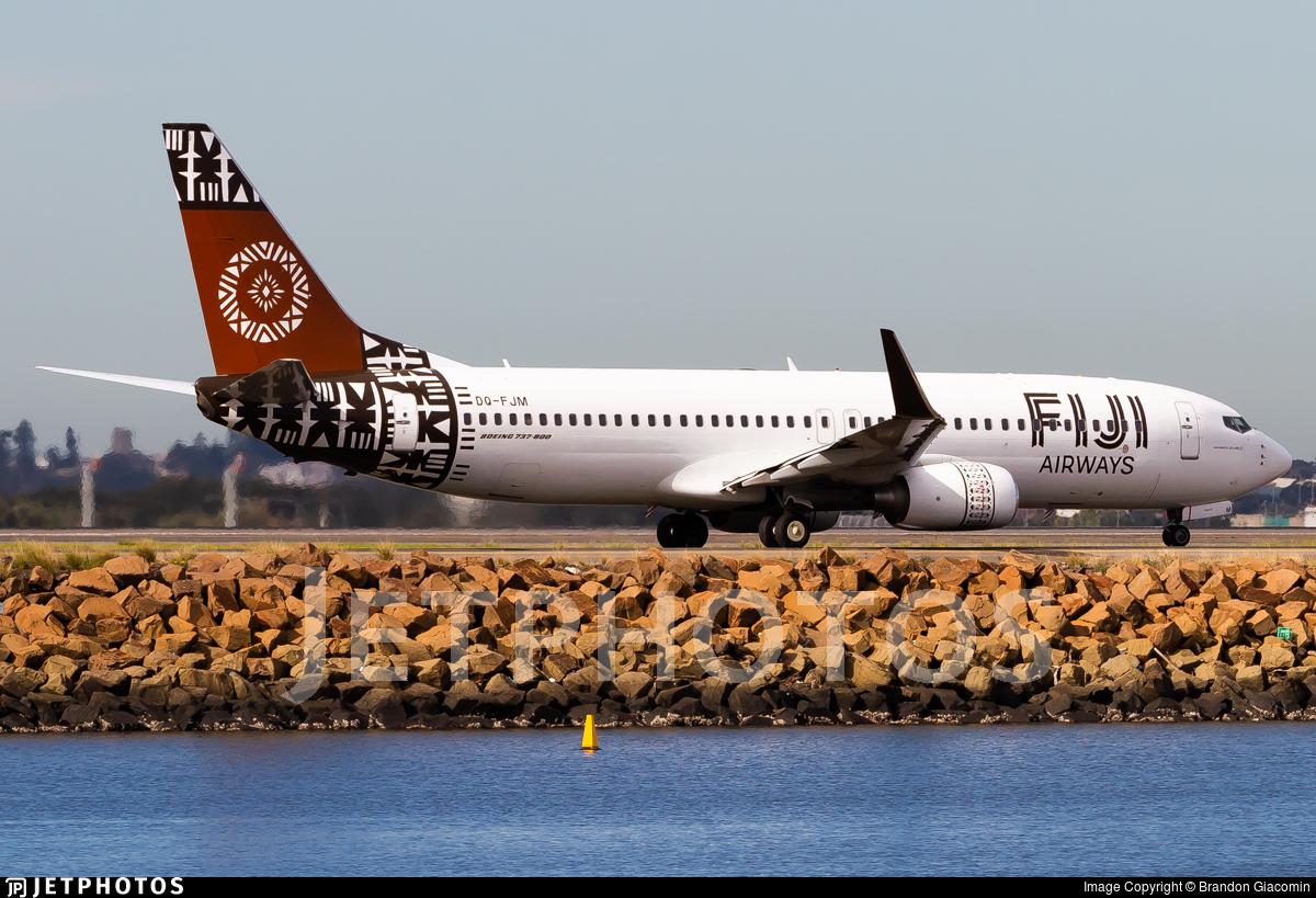 DQ-FJM - Boeing 737-86J - Fiji Airways