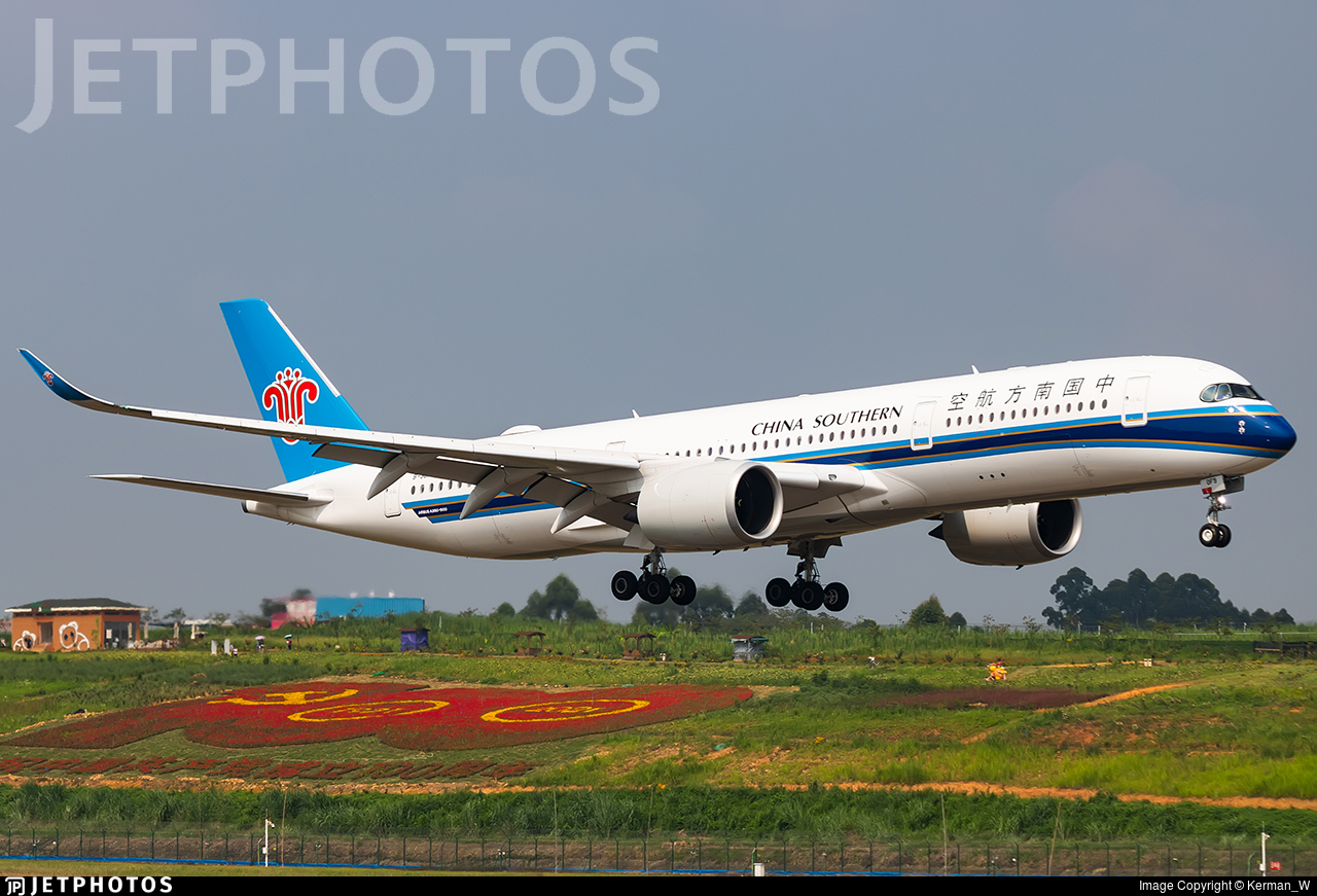 B-30F9 - Airbus A350-941 - China Southern Airlines