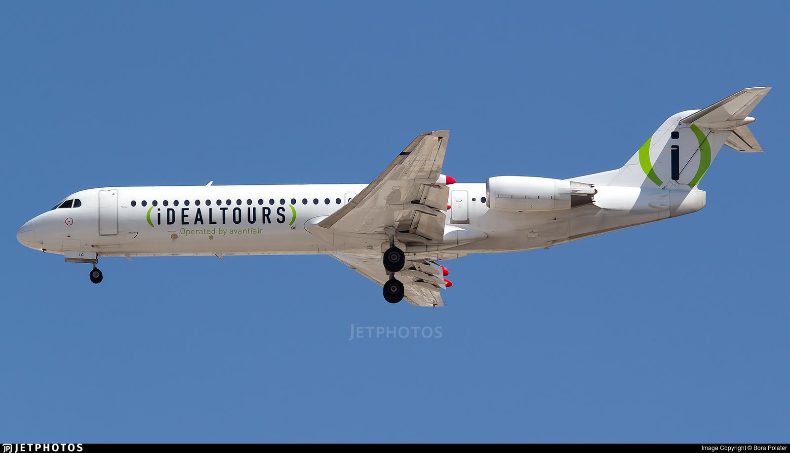 D-AOLG - Fokker 100 - Avanti Air