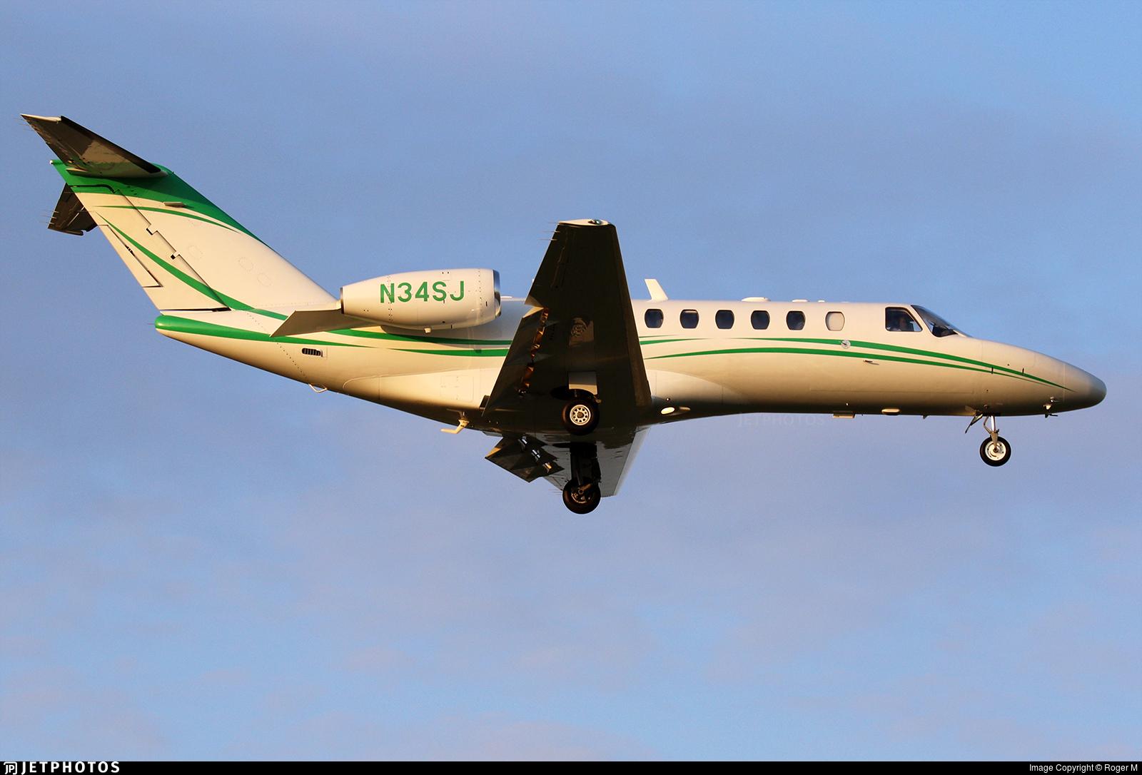 N34SJ - Cessna 525B CitationJet CJ3+ - Private