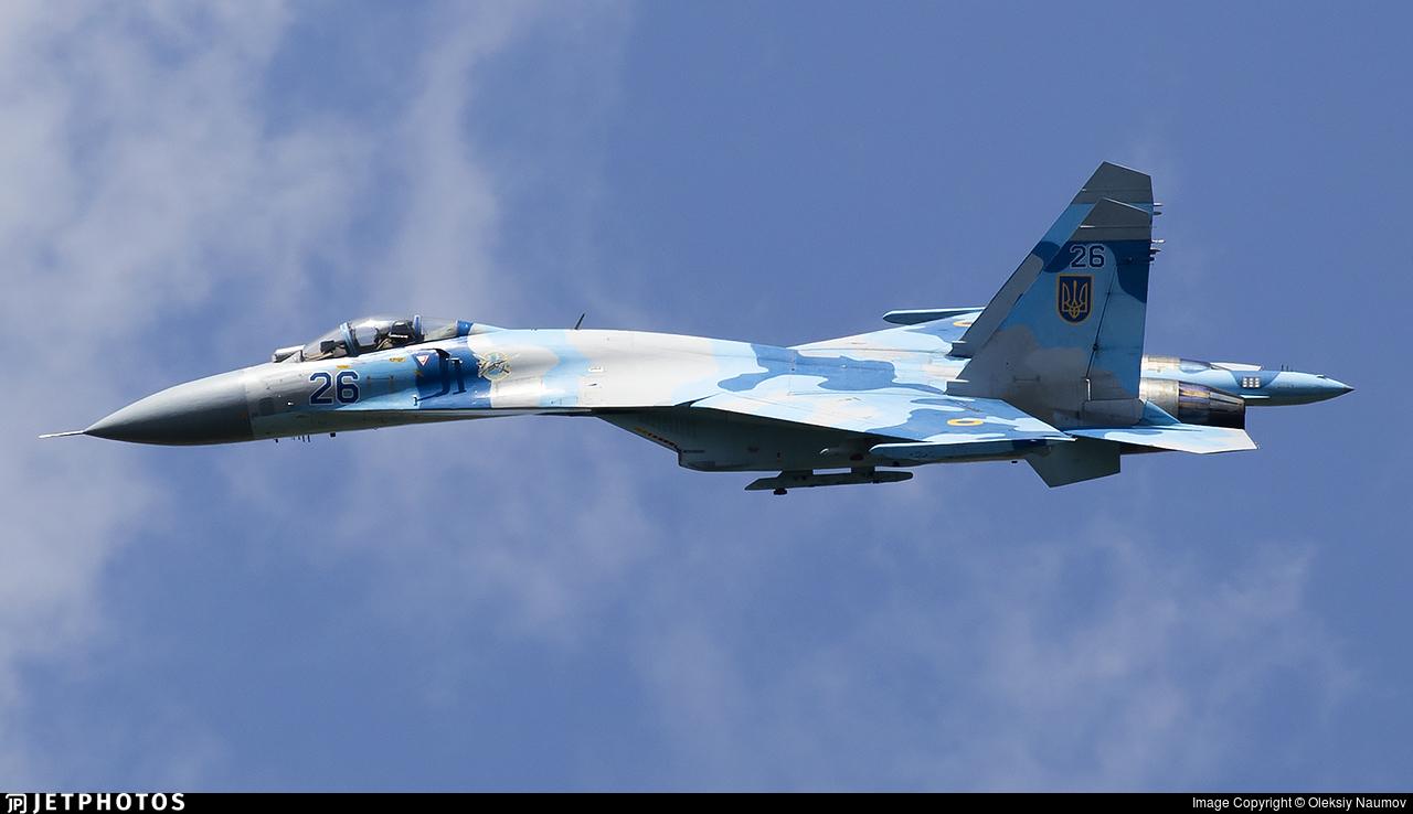 26 - Sukhoi Su-27 Flanker - Ukraine - Air Force