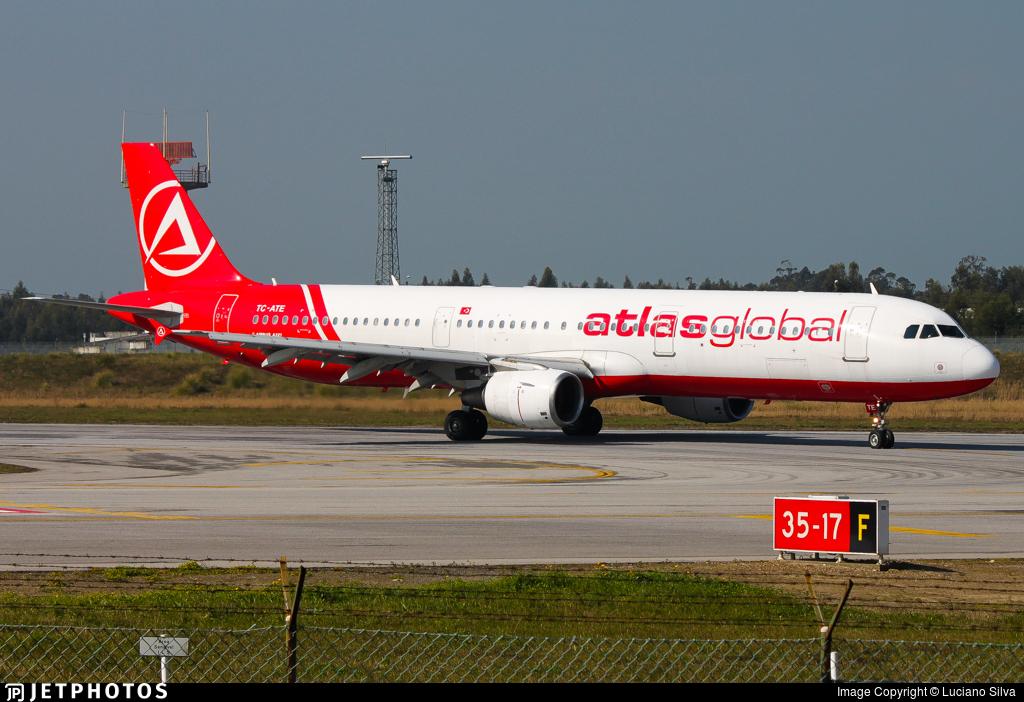 TC-ATE - Airbus A321-211 - AtlasGlobal