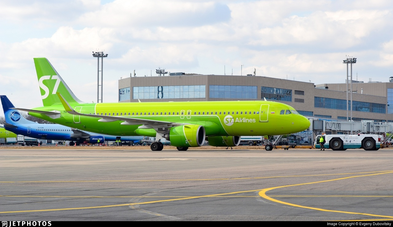 VQ-BCH - Airbus A320-271N - S7 Airlines
