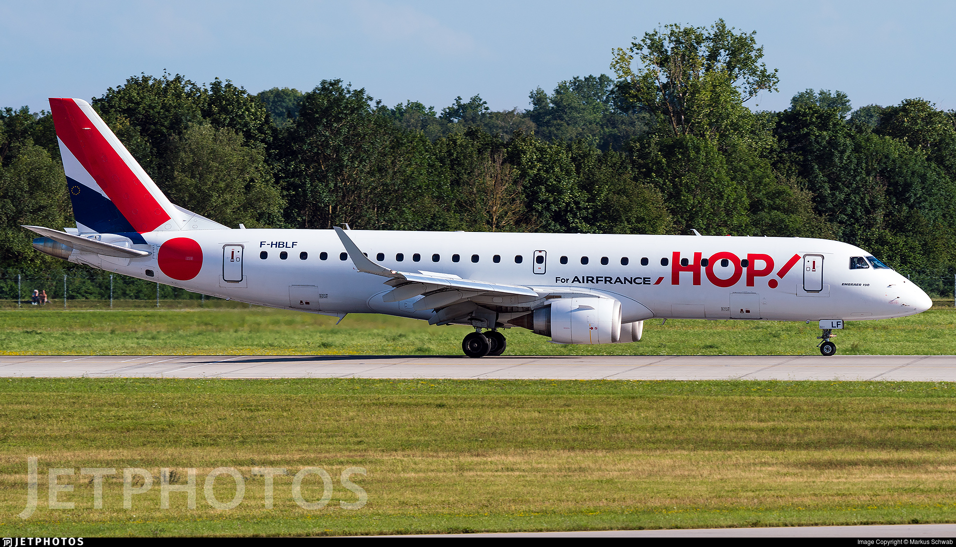 F-HBLF - Embraer 190-100LR - HOP! for Air France