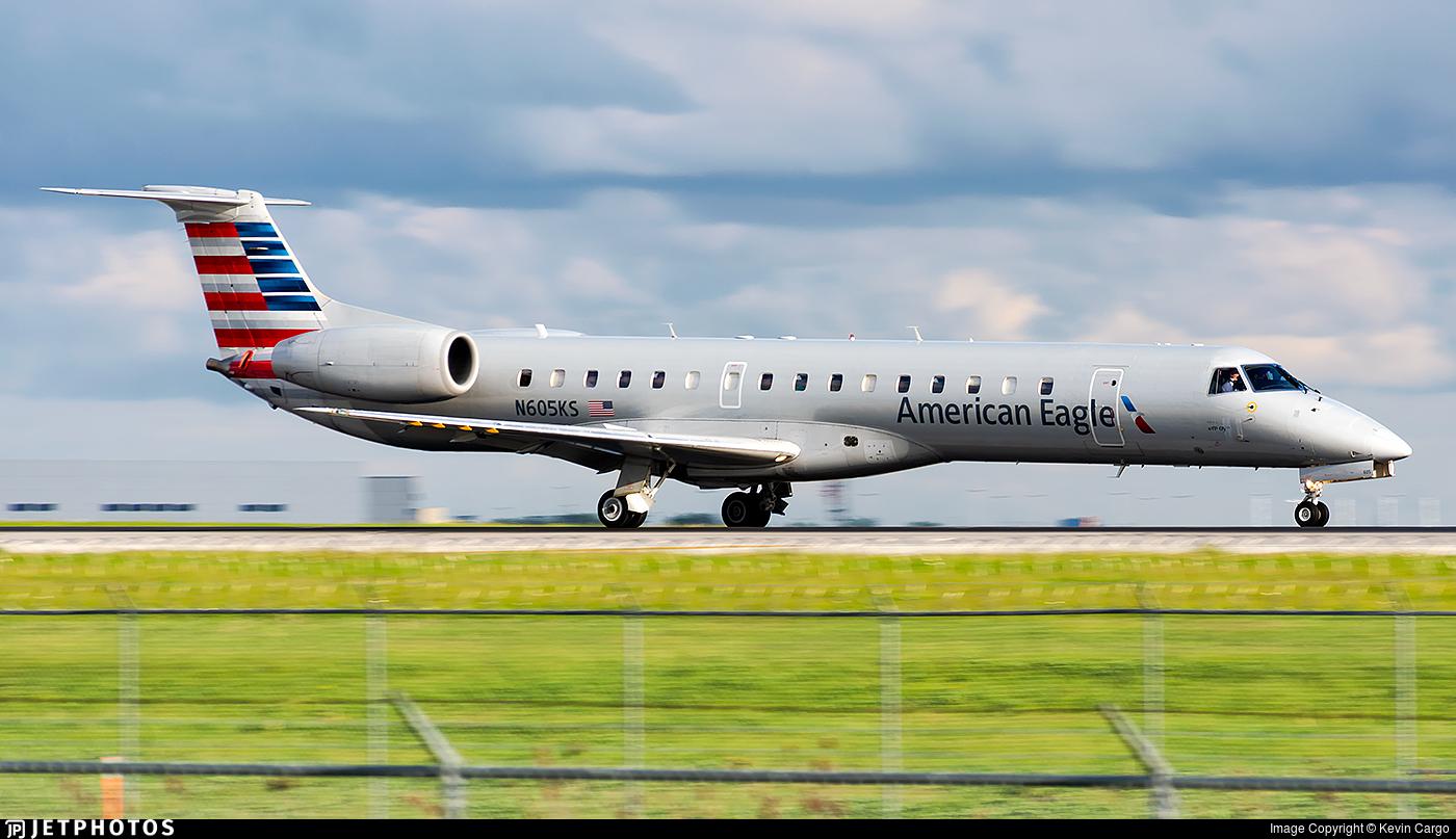 N605KS - Embraer ERJ-145LR - American Eagle (Envoy Air)