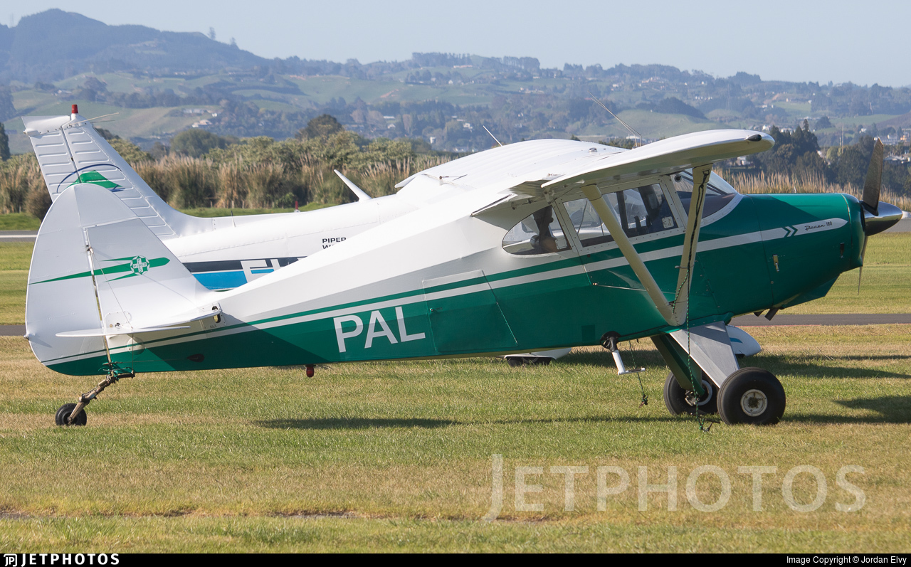 ZK-PAL - Piper PA-22-135 Pacer - Private
