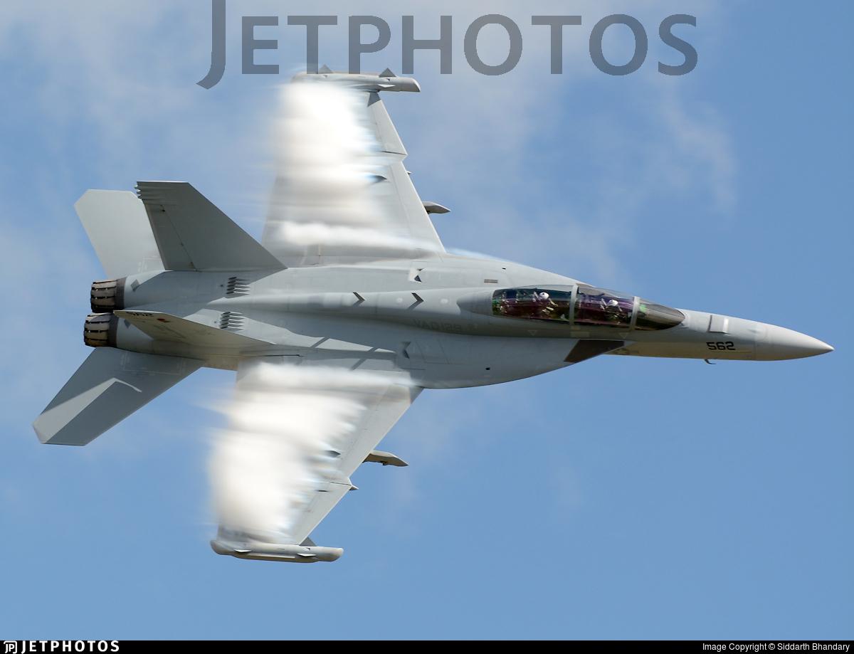 169208 - Boeing EA-18G Growler  - United States - US Navy (USN)