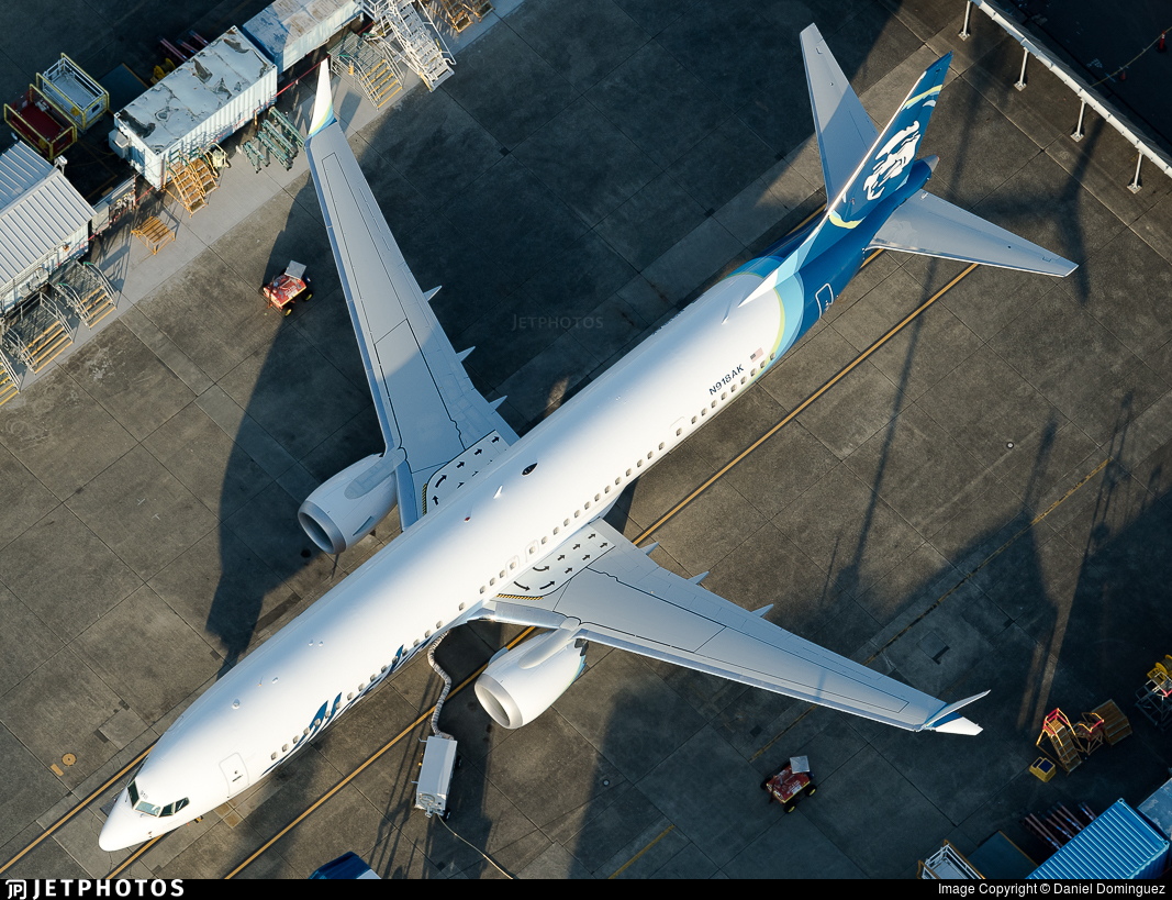N918AK - Boeing 737-9 MAX - Alaska Airlines
