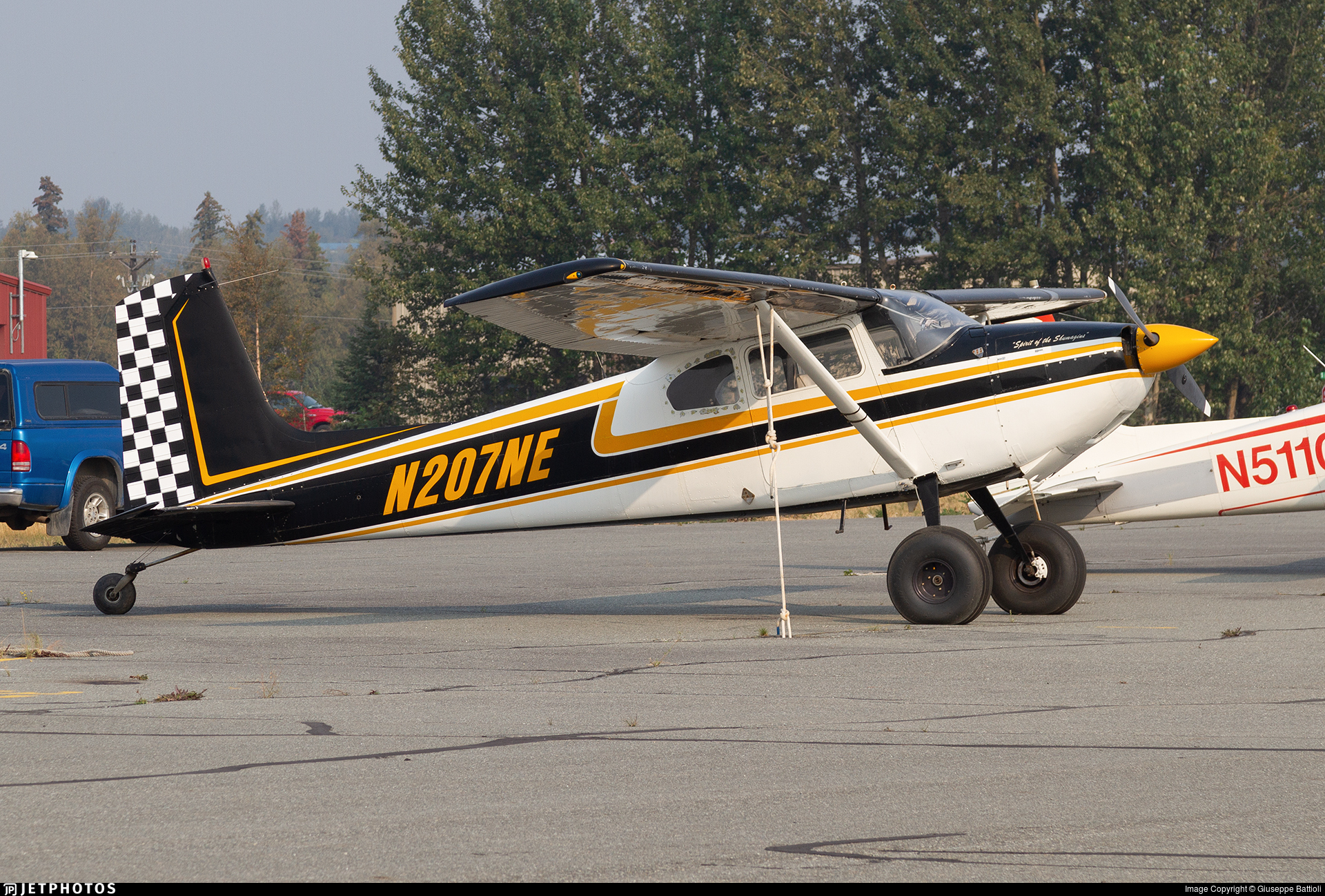 N207NE - Cessna 180 Skywagon - Private