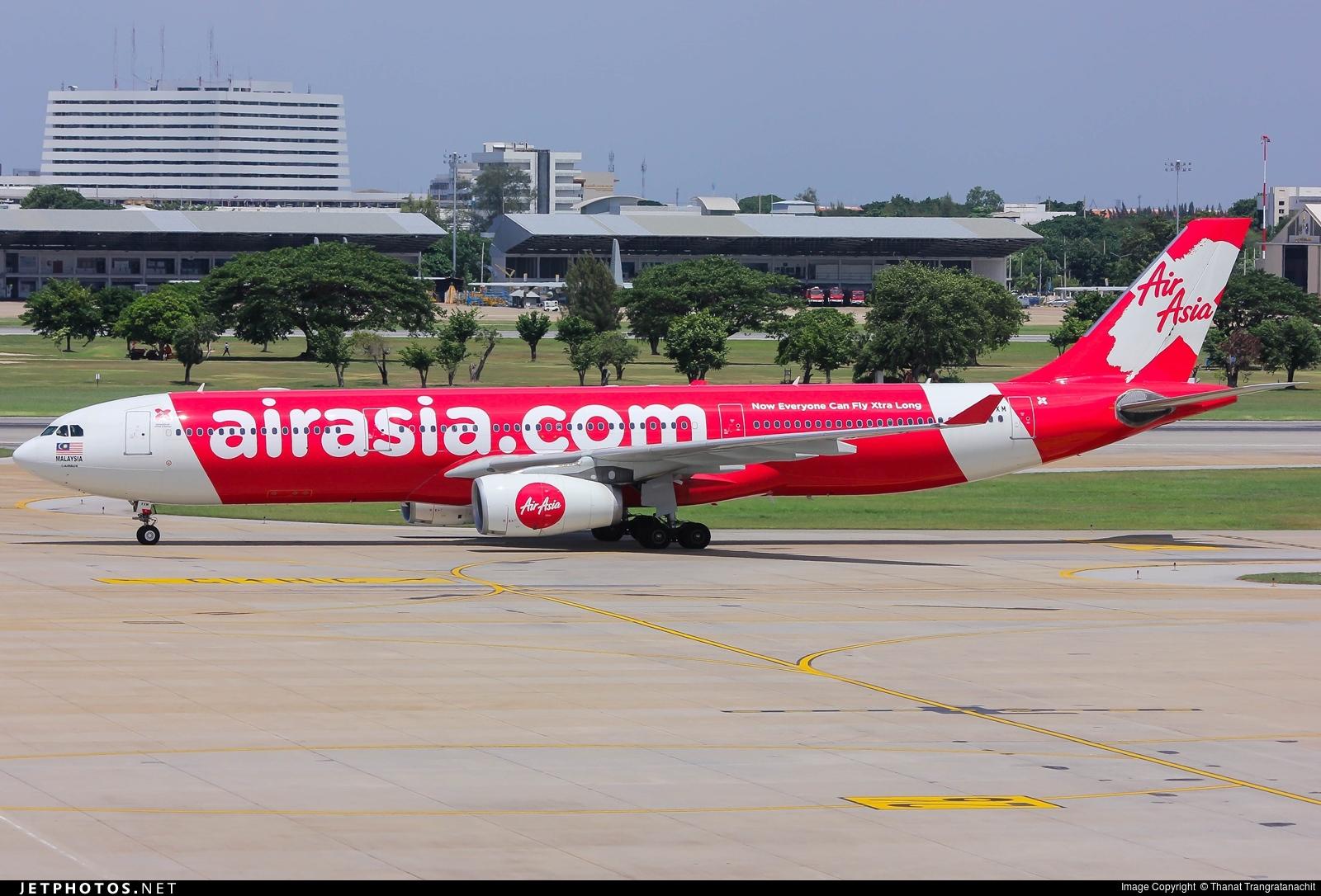 9M-XXM | Airbus A330-343 | AirAsia X | Thanat ...