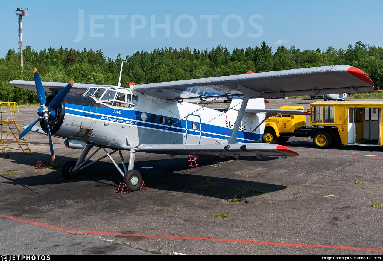 RA-02324 - PZL-Mielec An-2TP - Arkhangelsk Second Aviation Enterprise